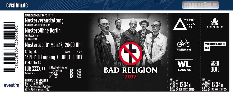 Bad Religion - tickets