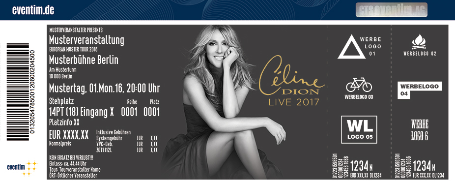 Céline Dion - tickets