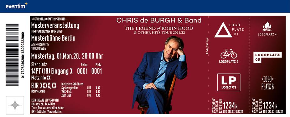 Eventim Chris De Burgh