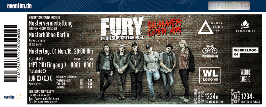 Fury in the Slaughterhouse - Summer Open Air 2017 - tickets