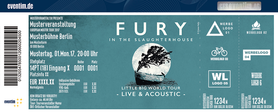 Fury in the Slaughterhouse: Little Big World Tour - Live & Acoustic - tickets