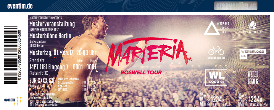 Marteria: Roswell Tour  - tickets