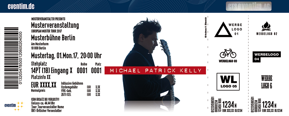 Michael Patrick Kelly - Live 2017 - tickets