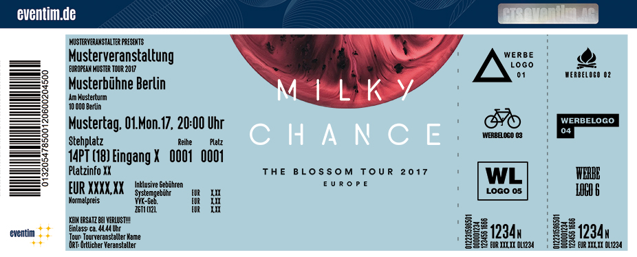 Milky Chance: The Blossom Tour 2017 - tickets