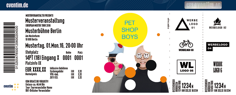 Pet Shop Boys: Super Tour 2017 - tickets