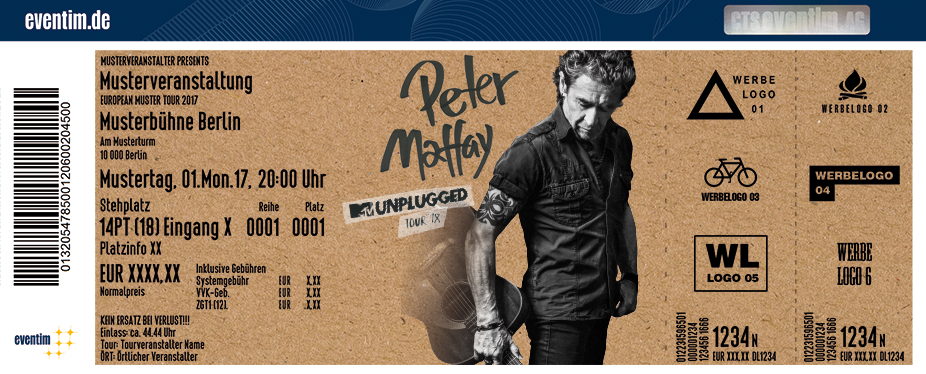 Peter Maffay: MTV Unplugged Tour 2018 - tickets