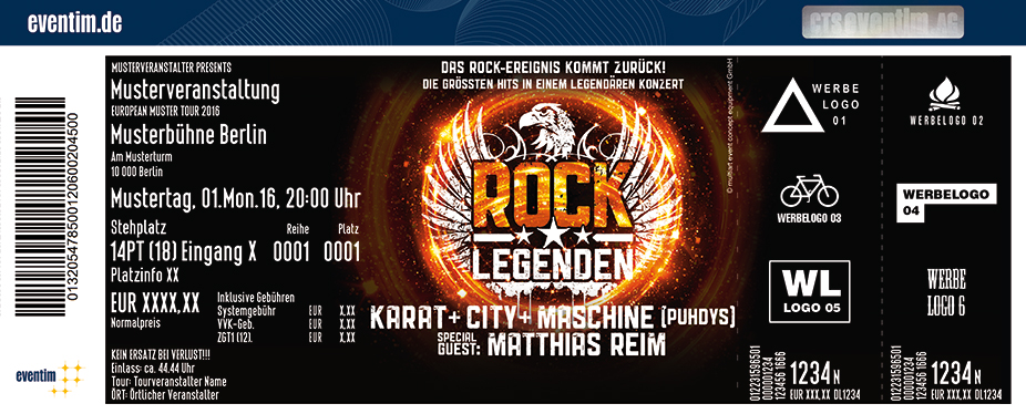 Rock Legenden - Live 2018 - tickets